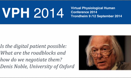 Prof Noble's Lecture VPH2014