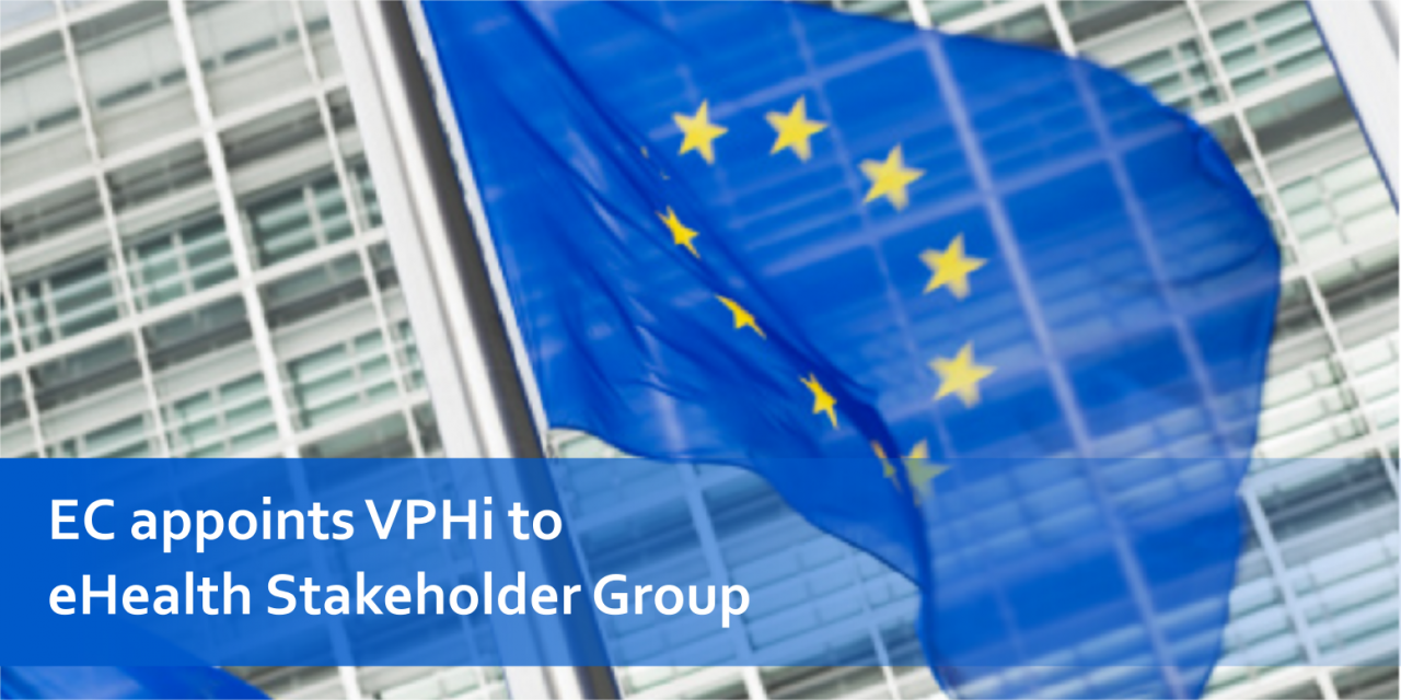 EC appoints VPHi to key stakeholder group